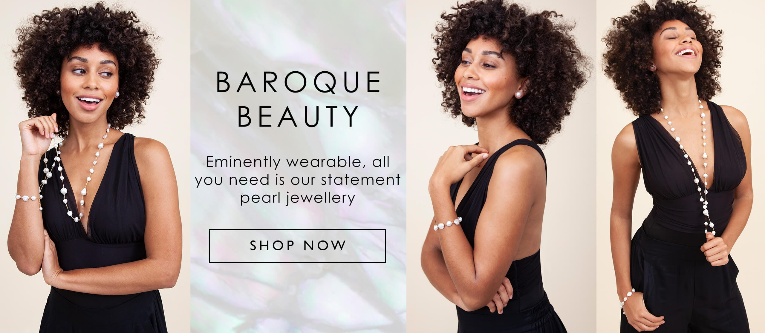 BAROQUE BEAUTY | Eminently wearable, all you need is our statement pearl jewellery