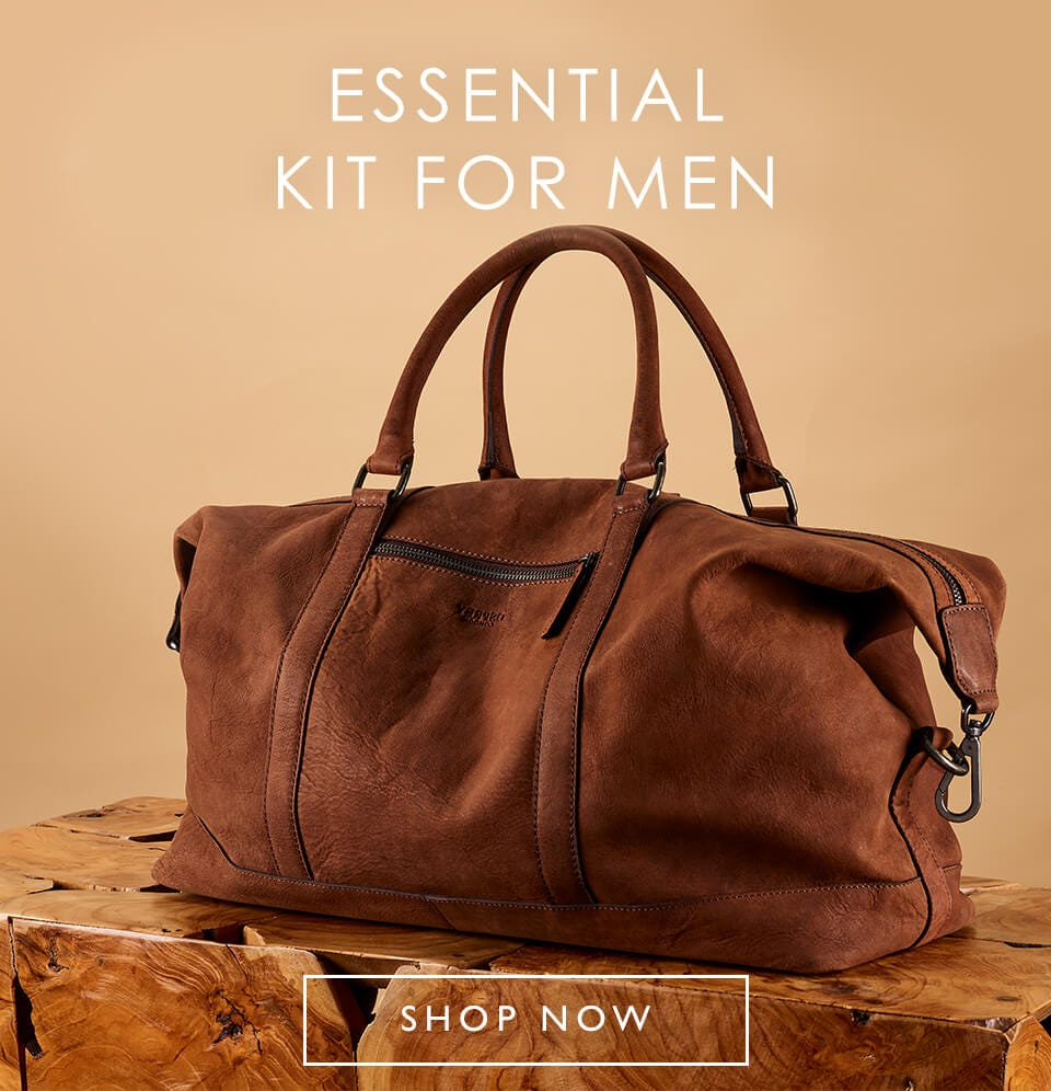 ESSENTIAL KIT FOR MEN | Handsome, hardwearing & practical too