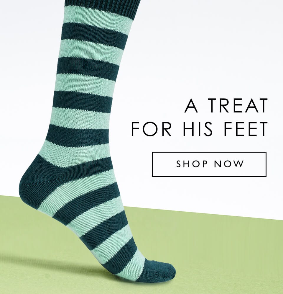 A Treat For His Feet