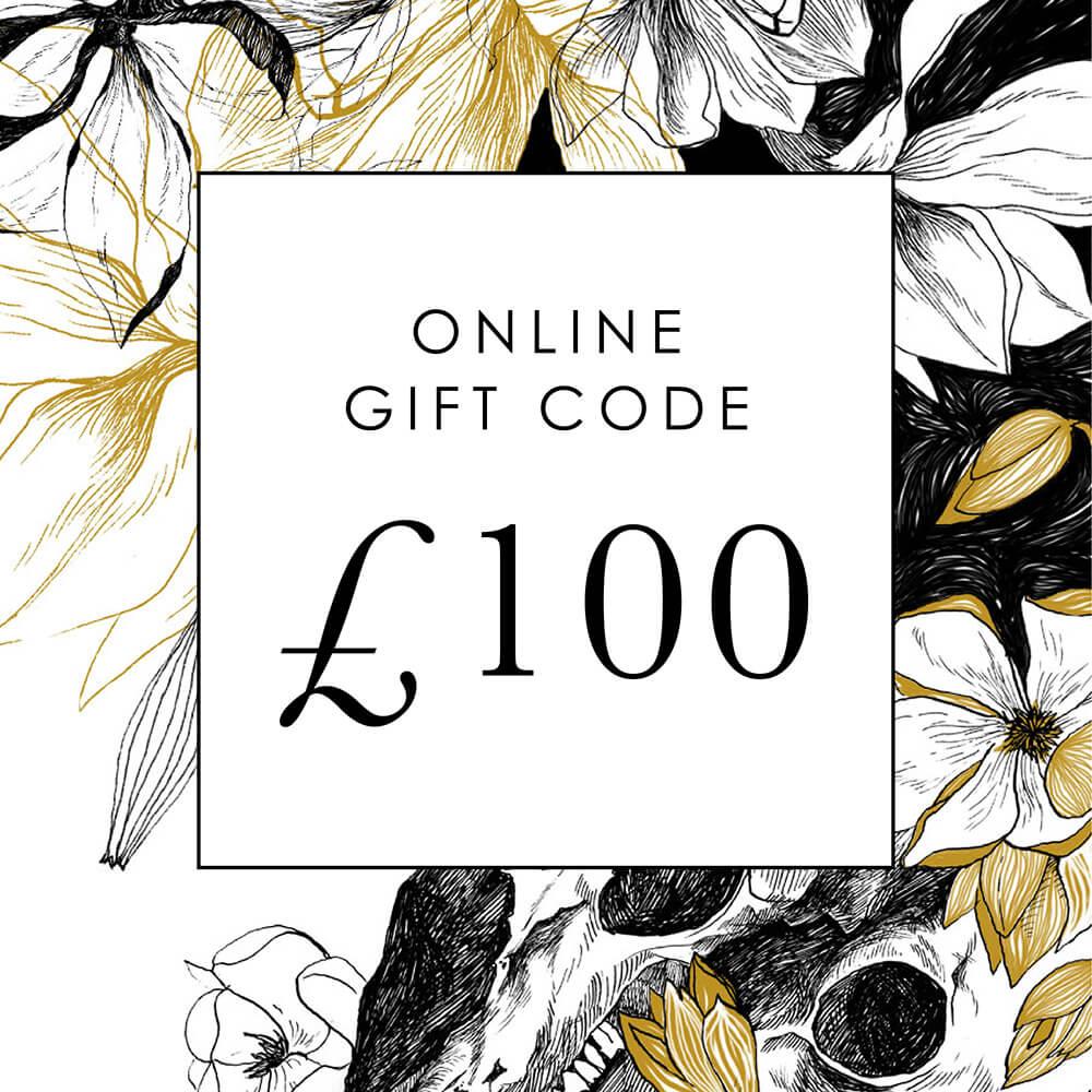 £100 Online Gift Code