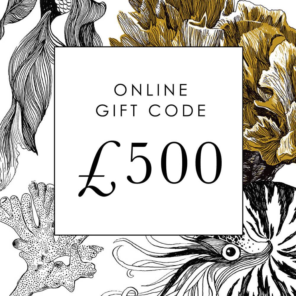 £500 Online Gift Code