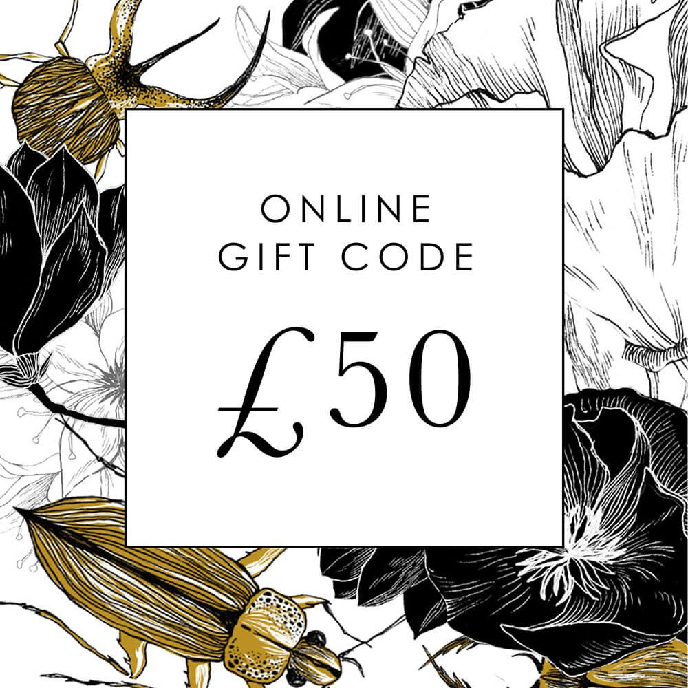 £50 Online Gift Code
