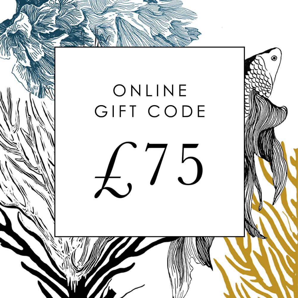 £75 Online Gift Code