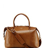 THE HELMSLEY LEATHER WEEKENDER