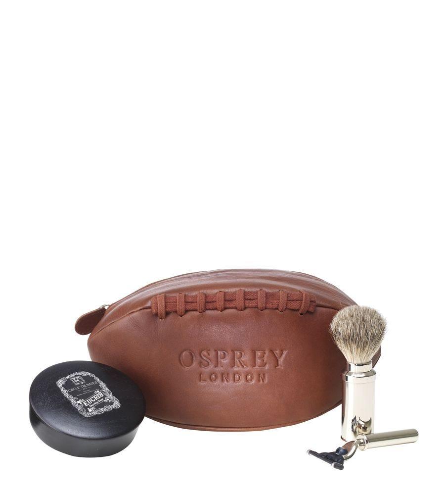 The Original Leather Rugger Washbag