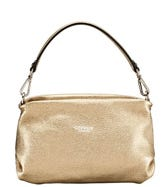 THE CARINA SHRUG ITALIAN LEATHER HANDBAG