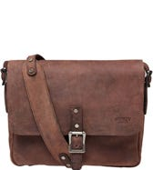 THE CLAYTON LEATHER SATCHEL