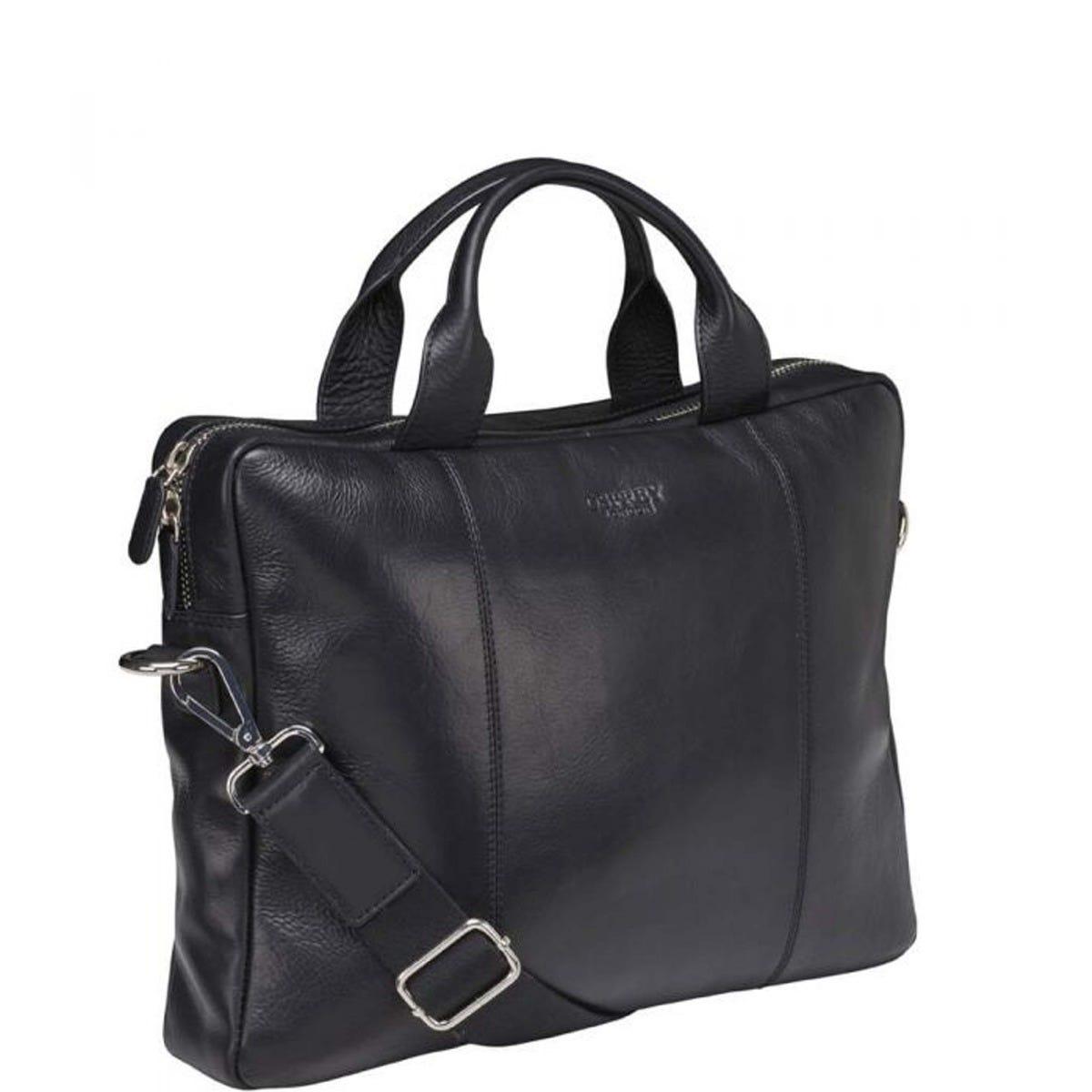 The Farringdon Leather Laptop Bag 285 00