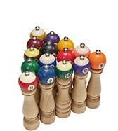 THE POOL BALL PEPPER MILL