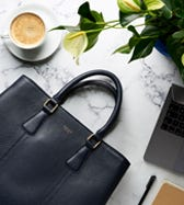 THE ADALINE LEATHER WORKBAG
