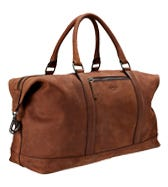 THE CLAYTON LEATHER WEEKENDER