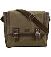 THE HUNTER CANVAS & LEATHER SATCHEL