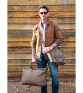 THE HUNTER CANVAS & LEATHER WEEKENDER