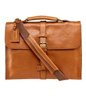 THE KNIGHTON ITALIAN LEATHER BRIEFCASE