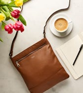 THE OSLO LEATHER CROSS-BODY