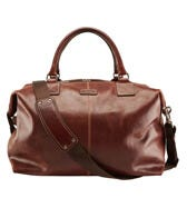 THE STOWAWAY LEATHER HOLDALL
