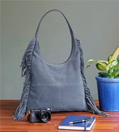 THE DAKOTA SUEDE HOBO