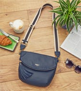 THE MILANO ITALIAN LEATHER CONVERTIBLE CROSS-BODY