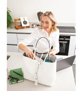 THE PORTOFINO 3-IN-1 ITALIAN LEATHER TOTE