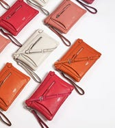 THE RUBY LEATHER CROSS-BODY CLUTCH