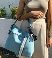 THE STELLA LEATHER HOBO