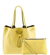 OSPREY LONDON Portofino Hobo Lemon