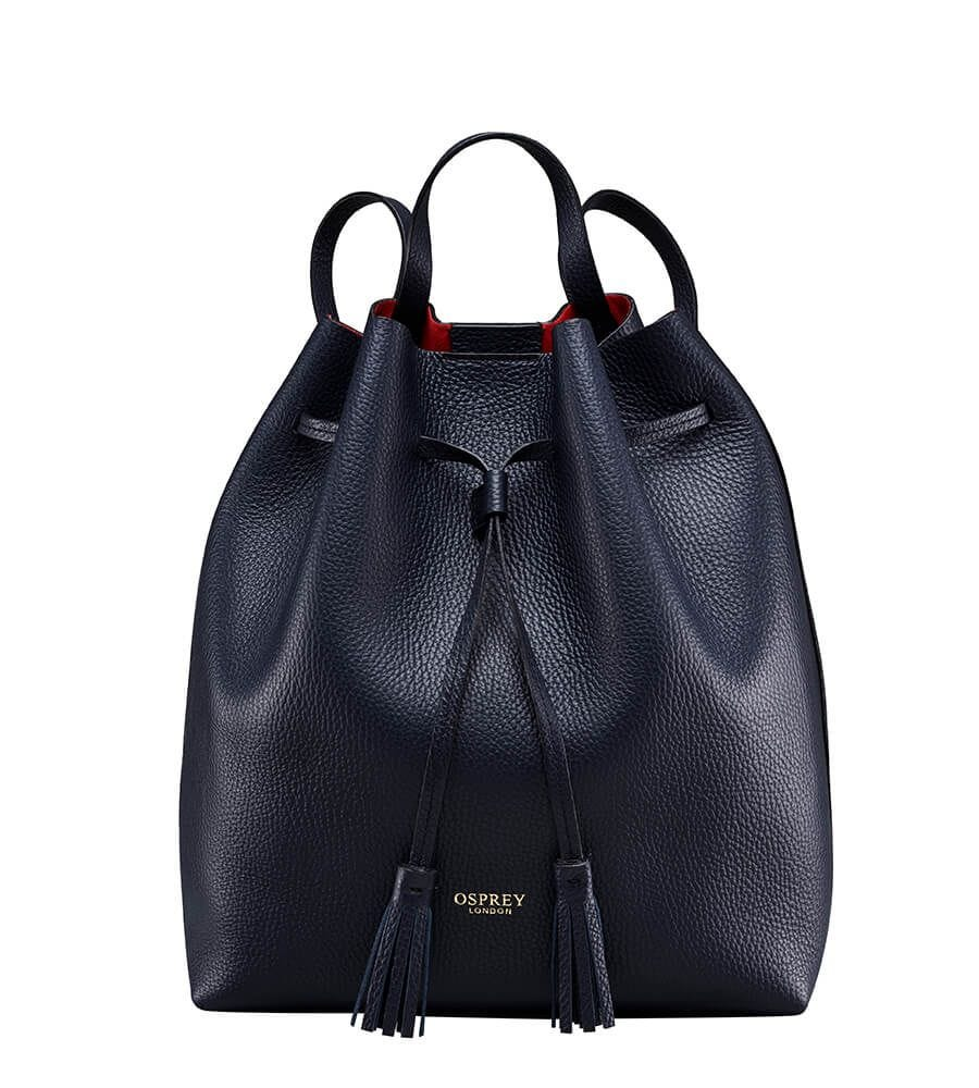 THE PORTOFINO ITALIAN LEATHER RUCKSACK