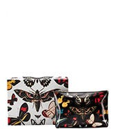 THE LARGE BUTTERFLY LEATHER POUCH