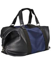 THE BALLISTIC NYLON & LEATHER HOLDALL