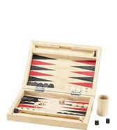 LUXURY WOODEN BACKGAMMON SET